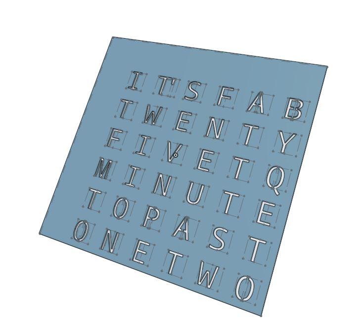 3d Sketch Buchstaben