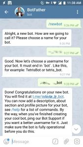 Chatbot Setup mit dem Smarthome