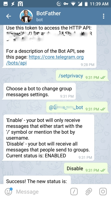 Chatbot mit Smarthome FHEM