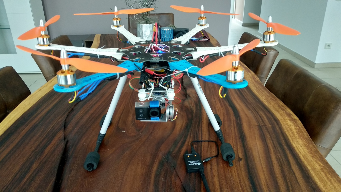 Hexacopter Drohne