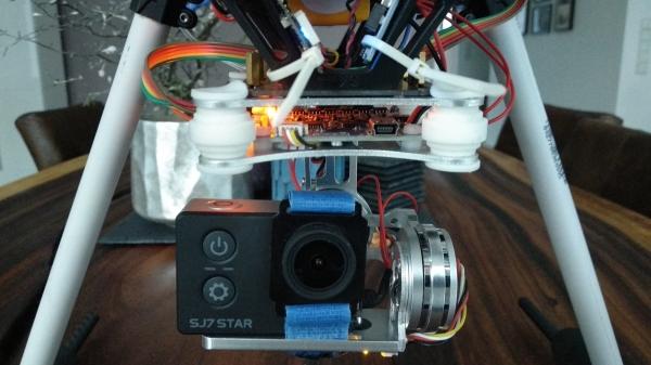 Gimbal und FPV Kamera